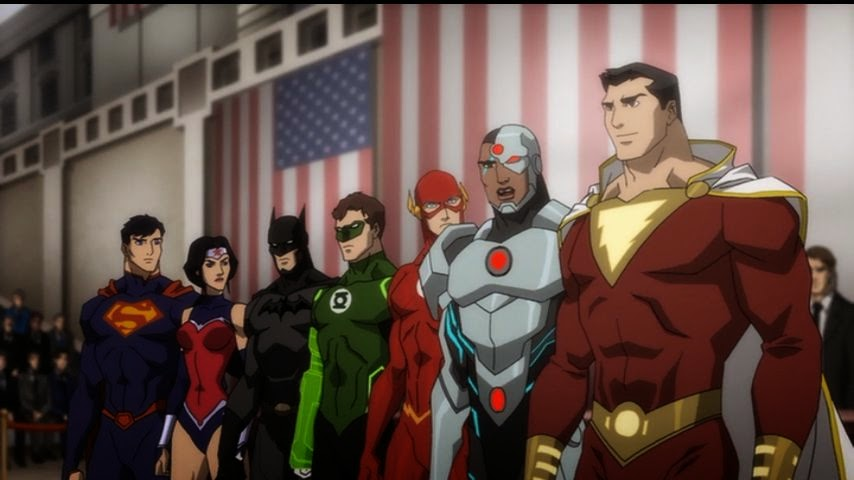Justice League War movie DC Comics
