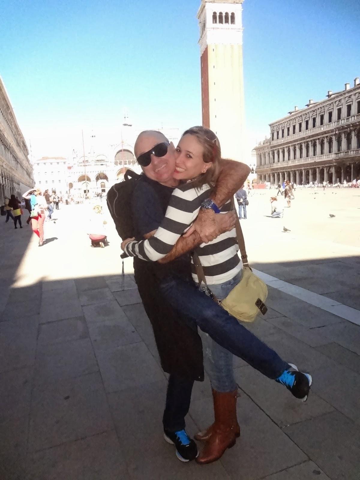 Rodnei e Marcia em Veneza