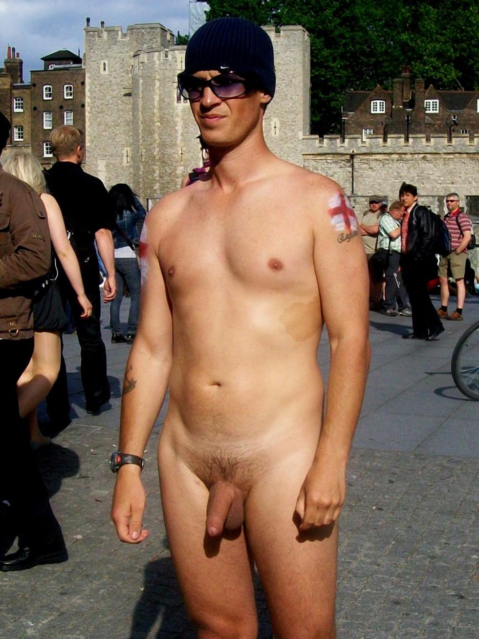 Horny Men Naked In Public