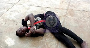 Traffic robber knocked down while trying to escape during operation .