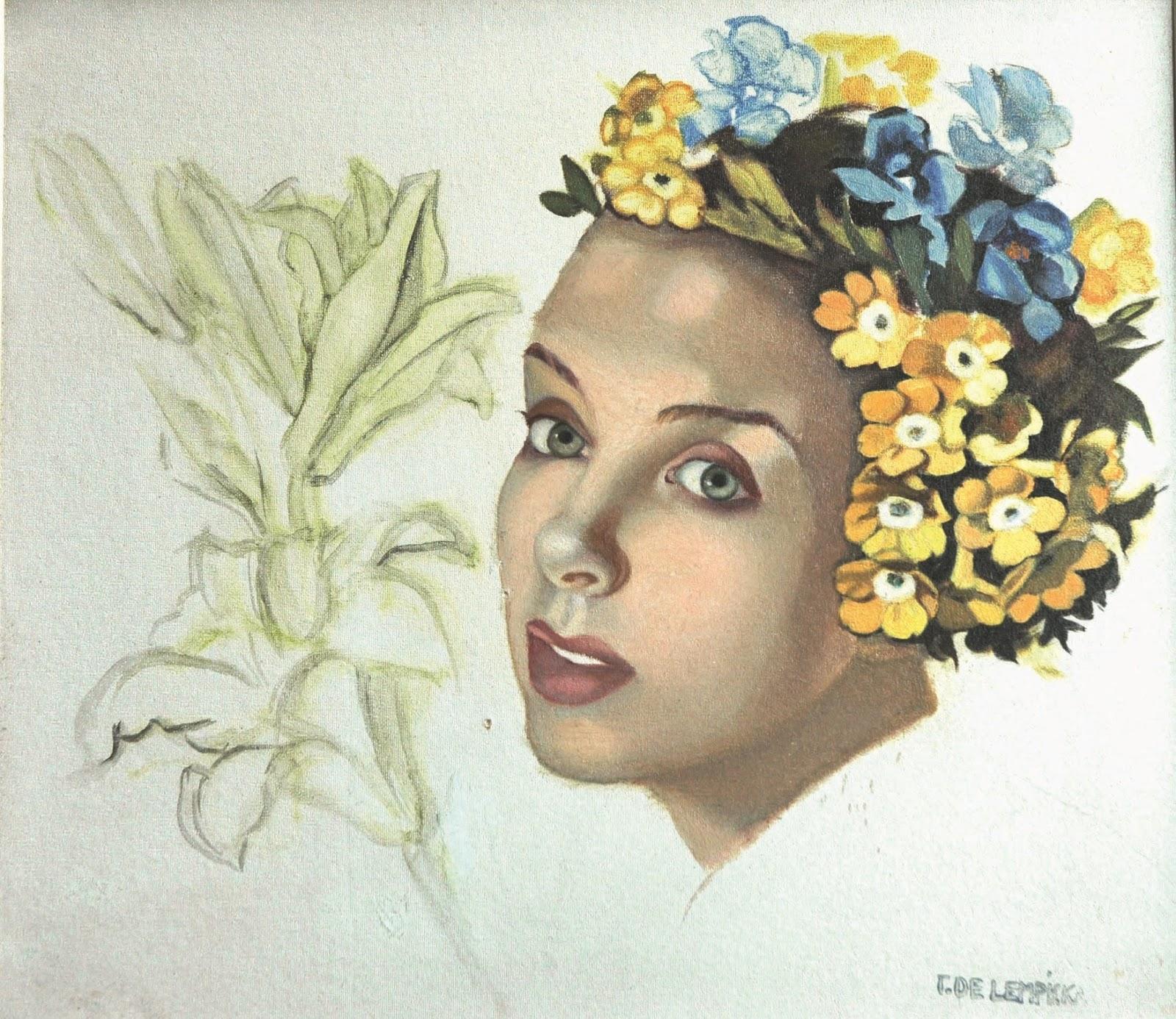 Tamara  De  Lempicka  Tutt Art