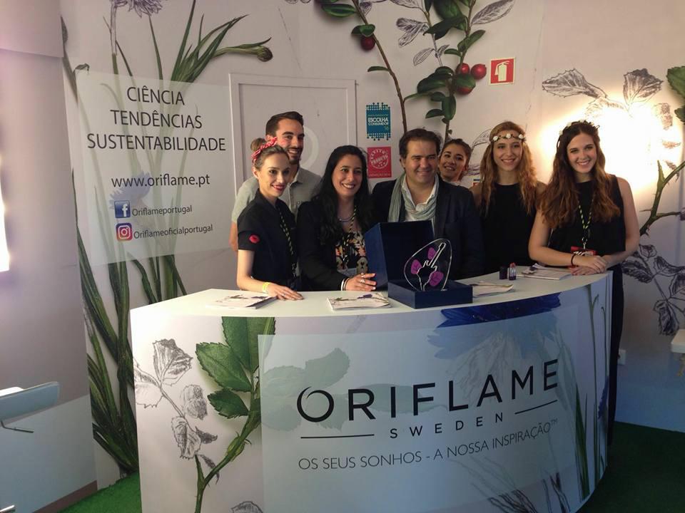 Oriflame vence prémio Rock in Rio Atitude Sustentável 2016