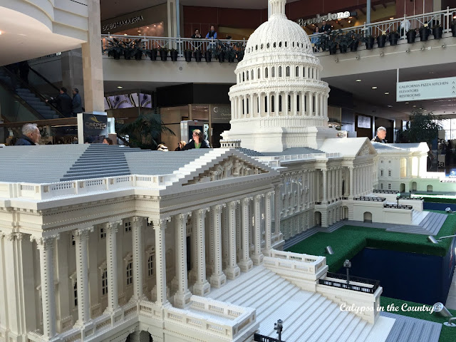 Lego Capitol Building - part of the Lego Americana Roadshow!