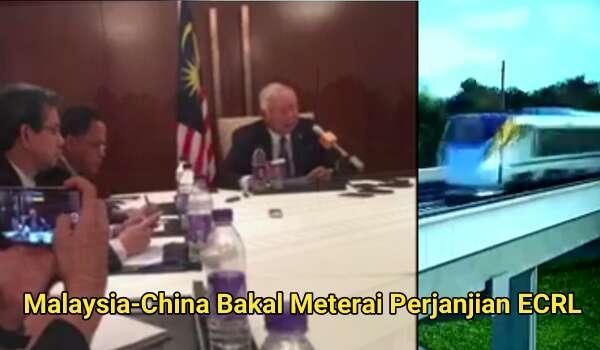 [Video] Malaysia-China Bakal Meterai Perjanjian ECRL
