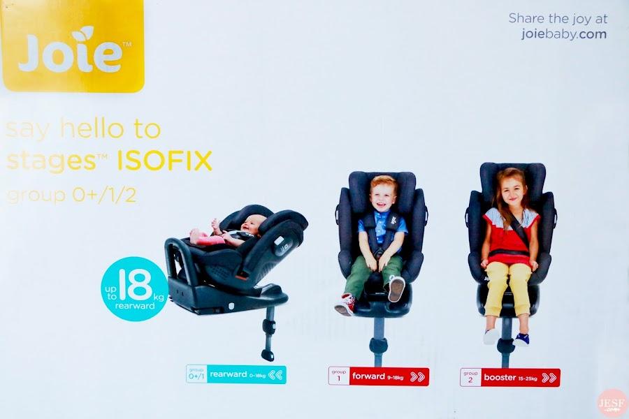 L'instant Maman & bébé #4 | On teste le tout nouveau siège auto Stages Isofix de Joie ! julieetsesfutilites.com