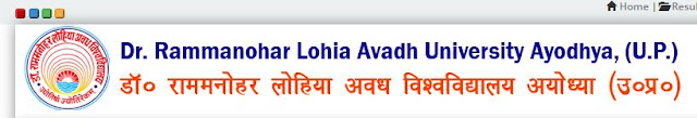 Avadh University Admit Card 2021 - www.rmlau.ac.in 2021 RMLAU एडमिट कार्ड 2021