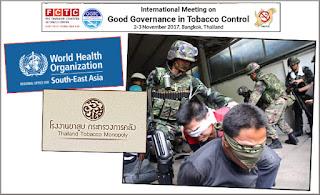 L'OMS et la junte militaire thaïlandaise, détentrice du Monopole du tabac, ont un partenariat
