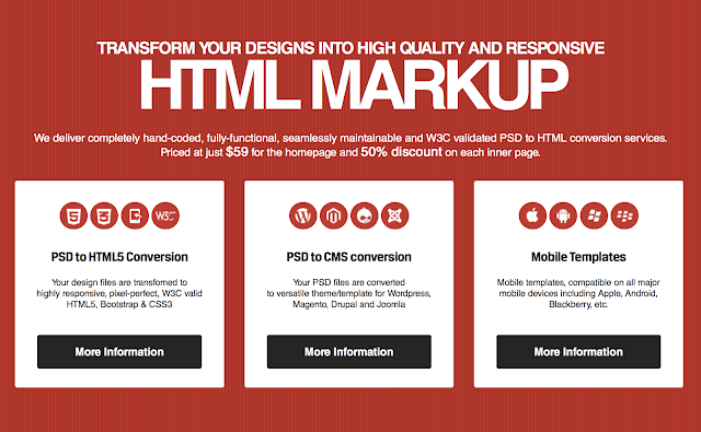 PSD to HTML Converter