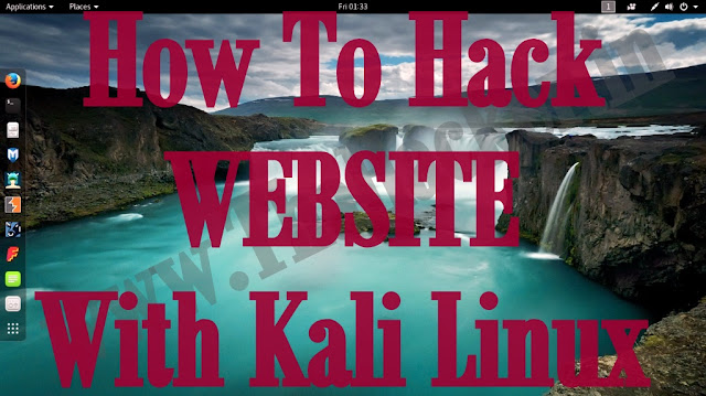 How To Hack Website With Kali Linux