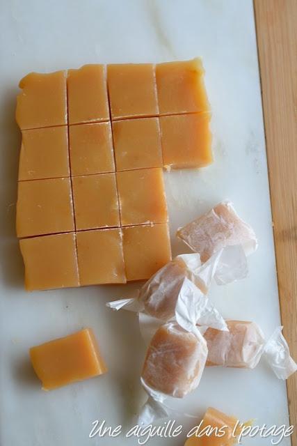 Les caramels mous de mon enfance, au beurre salé