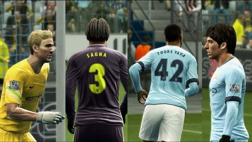 PES 2013  Manchester City 14-15 Update GDB by Vulcanzero