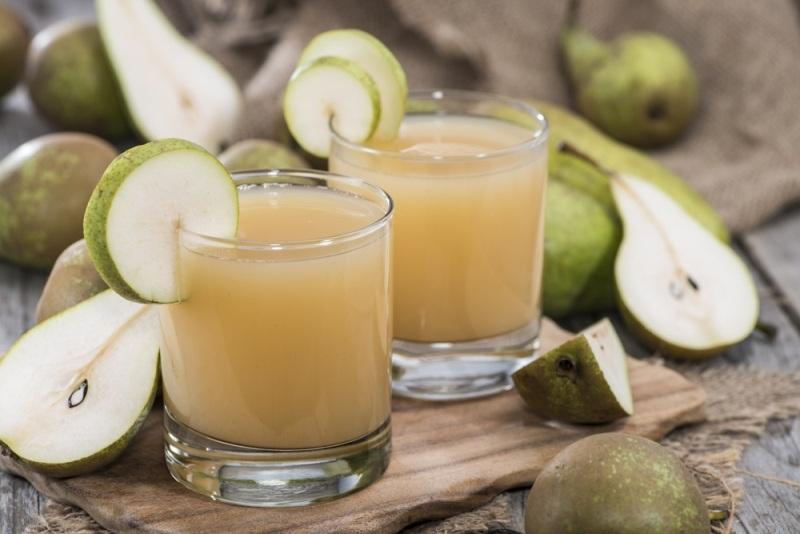 Jus buah Pir untuk mengatasi sembelit