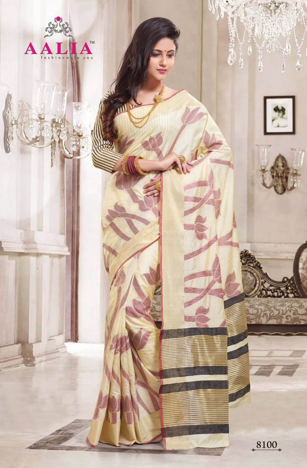 Aalia – Silk Fashion Wear Indian Women Printed Saree
