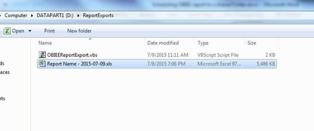how to delete a report in obiee