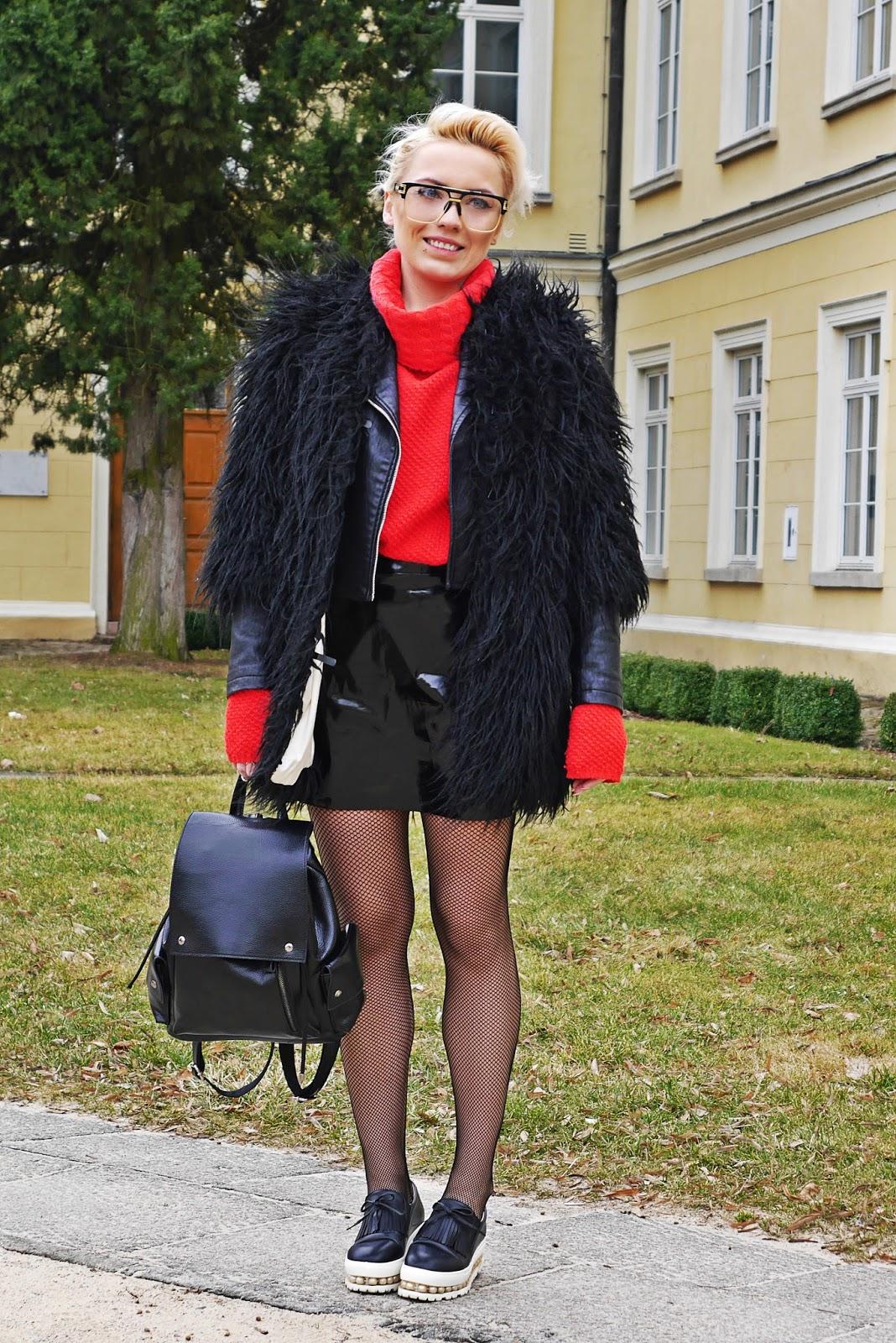 czarne_futerko_spodnica_cerata_look_karyn_blog_160317b