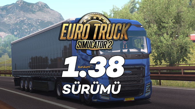 Euro Truck Simulator 2 1.38 + 72 DLC Tek Link İndir