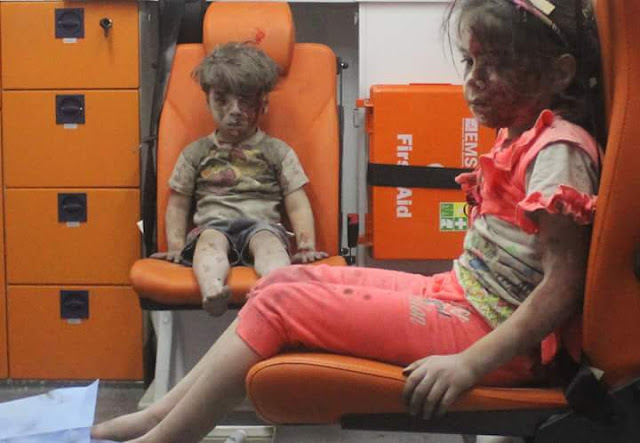 After #AylanKurdi, a picture of this Syrian boy shocks world - Watch heartbreaking video >>