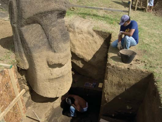 Easter Island statues face new concerns