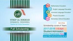 Beasiswa Kuliah S1 Calon Guru di STKIP Al Hikmah
