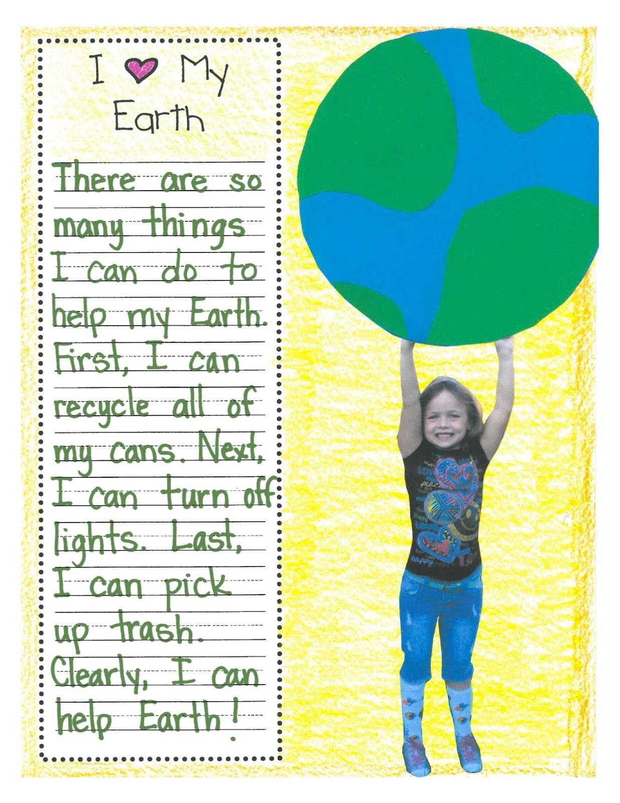 Teacher Idea Factory Earth Day Unit Now Available