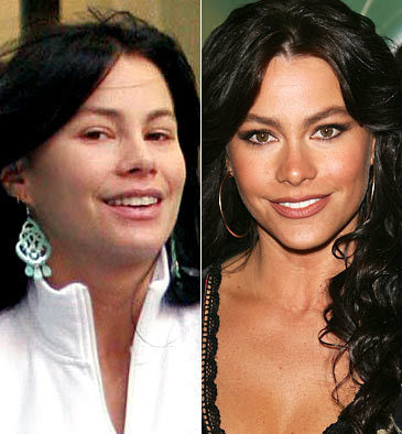 Tremendous Its News 2 Them Stars Without Make Up Sofia Vergara Unmasked Hairstyles For Men Maxibearus