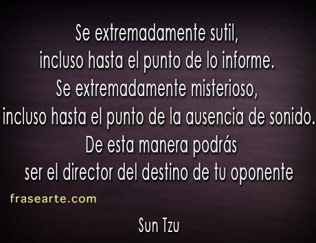Citas para pensar de Sun Tzu El Arte de la Guerra