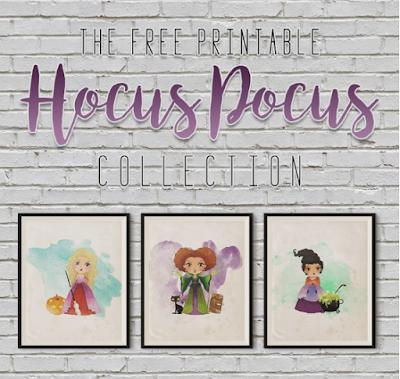 Hocus Pocus printable art