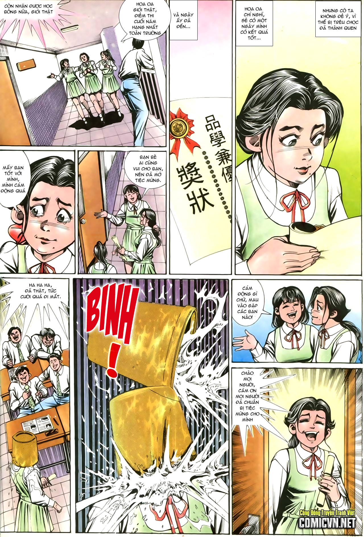 Người Trong Giang Hồ chapter 207: nhật ký đau lòng trang 29