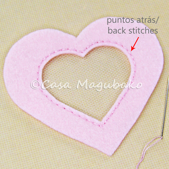Heart Felt Case Tutorial - Stitching Opening by casamagubako.com