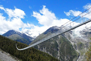 World's longest suspension footbridge opens in Switzerland