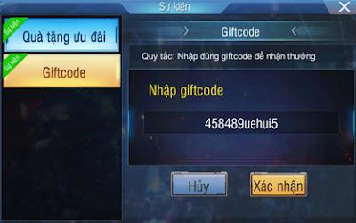 Hướng dẫn nhập giftcode truy kích mobile
