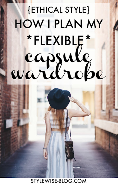 ethical capsule wardrobe - how to plan a two season capsule