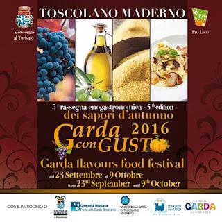 Garda con gusto dal 23 settembre al 9 ottobre Toscolano Maderno (BS)