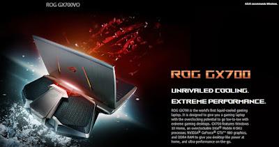 Spesifikasi Laptop Game Termahal Saat Ini, ASUS ROG GX700
