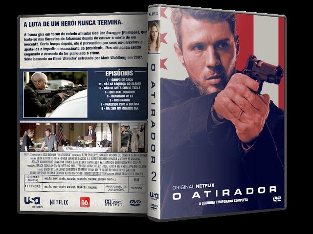 Capa DVD O Atirador 2ª Temporada [Exclusiva]