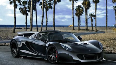 On April 3, 2013, The Hennessy Venom GT Crested 265.7 Mph (427.6 Km/h) Over  The Course Of 2 Miles (3.2 Km) During Testing At United States Naval Air  Station ...