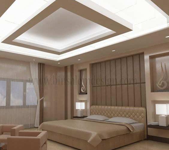 Bedroom fall ceiling design