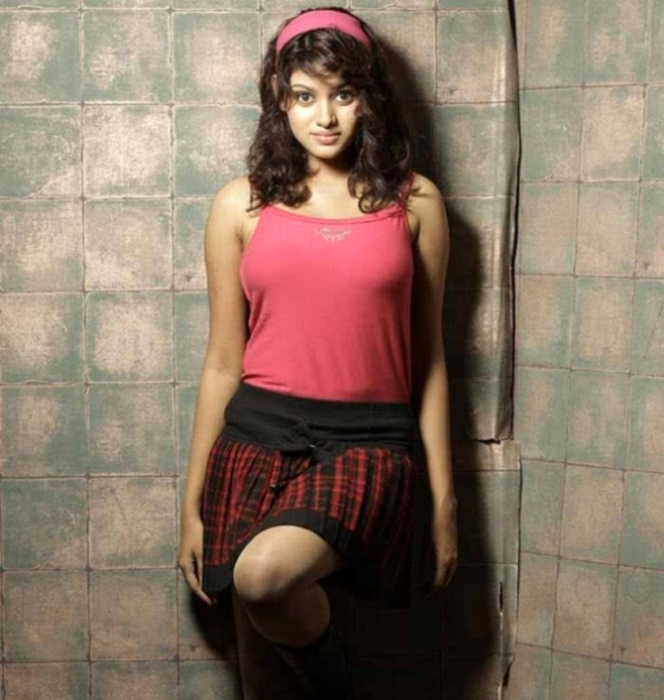 sexy foxy Oviya latest unseen hot photoshoot stills