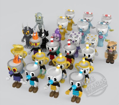 Toy Fair 2019 McFarlane Construction Cuphead Official Pics Series 1 Mystery Box