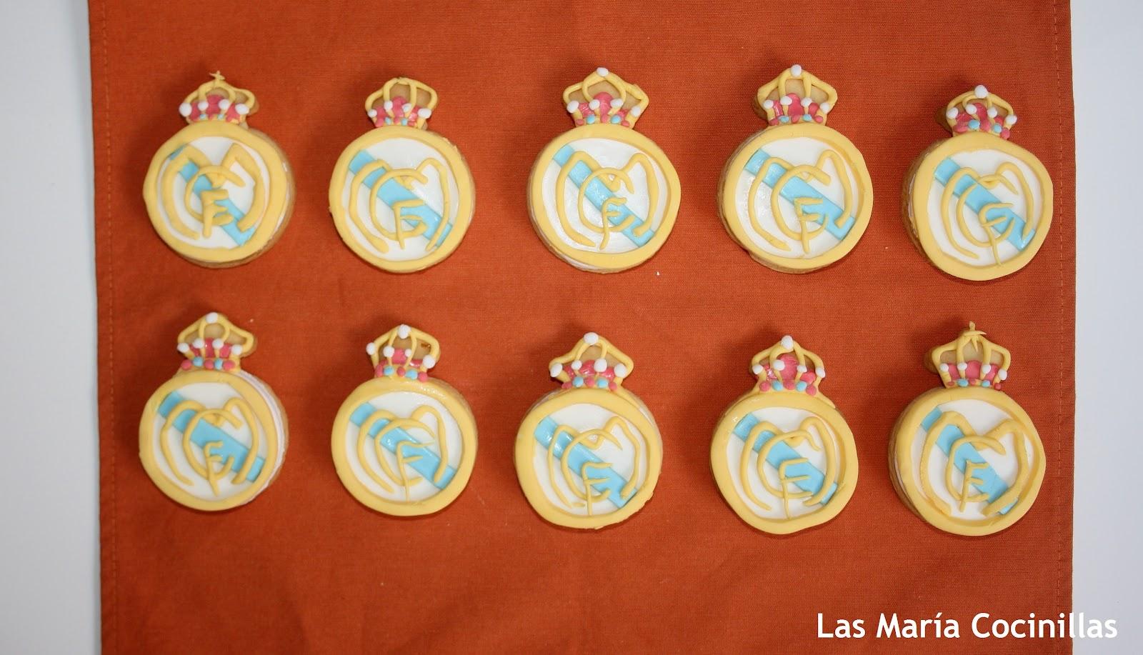 Real Madrid Galletas Decoradas Las Maria Cocinillas