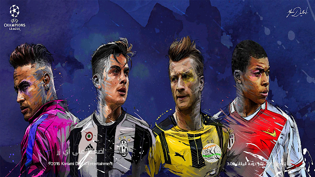 PES 2017 Start Screen Champions League by Mido AlKing