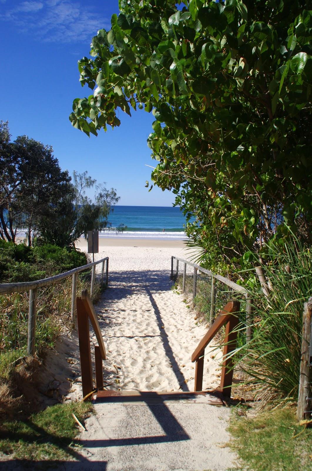 Burleigh Head Beach Walkway