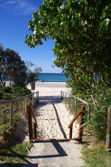 Burleigh Head Beach Walkway