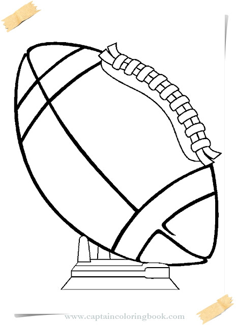 Rugby Coloring Pages Free Print Coloring Page