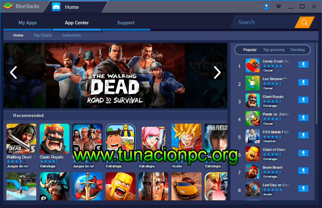 Bluestacks Emulador Android