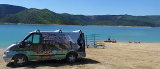 Congost de Mont Rebei en Kayak con Zenith.