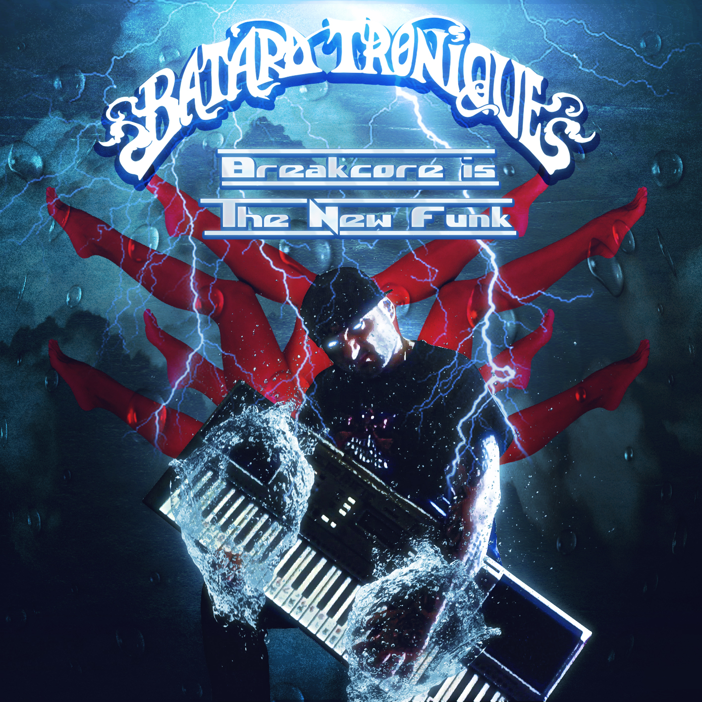 Paris Zombie Netlabel: PZ032 - Batard Tronique - Breakcore Is The