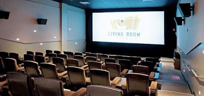 Living room theater boca