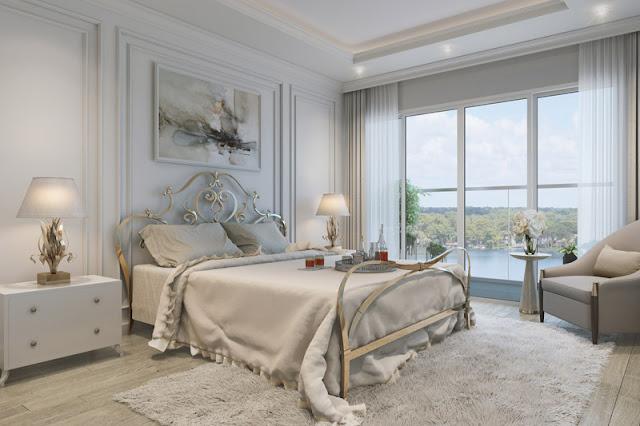Phòng ngủ Vinhomes skylake