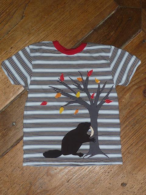 Biber Shirt mit Baum